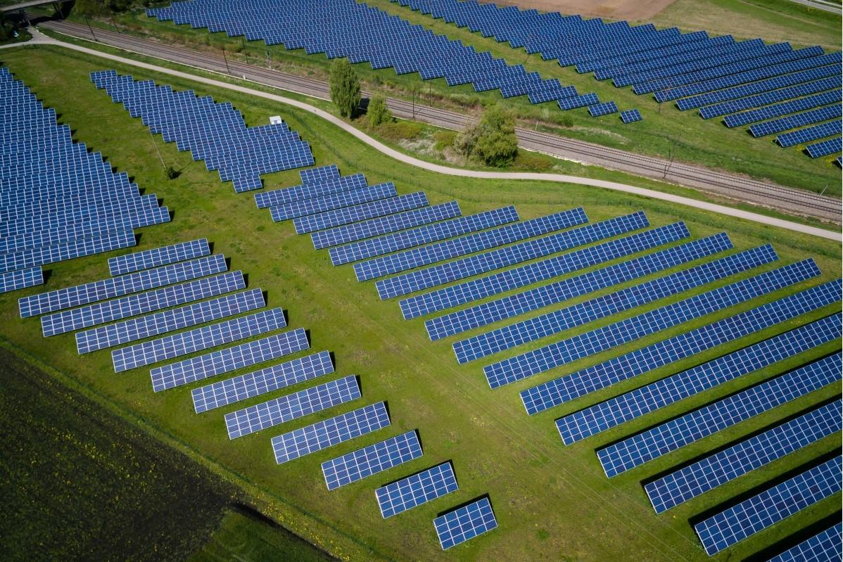 Solarkraftwerk Industriealpine